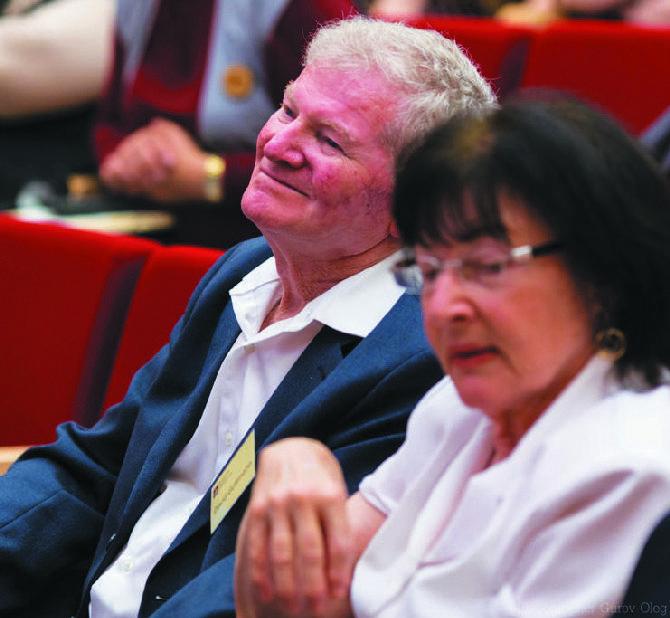Давид Гуттманн (Израиль), профессор университета Хайфы, один из мировых пионеров логотерапии, лауреат премии Института Виктора Франкла (Вена)