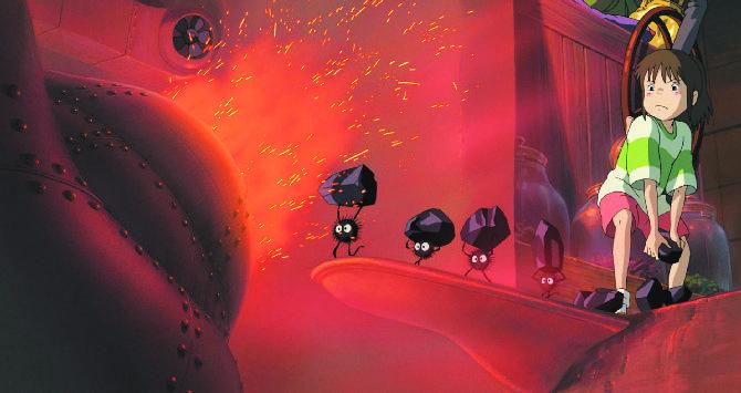 Кадр из мультфильма «Унесенные призраками»