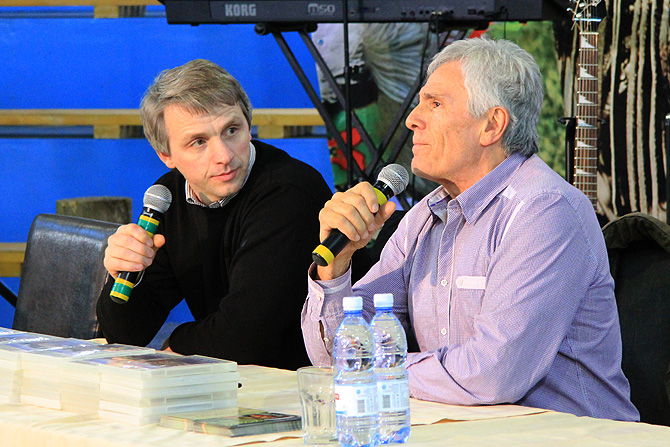 Константин Бёгель и Гойко Митич (фото: Михаил Курушин)